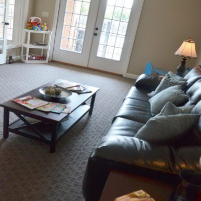 Our apartments feature spacious living rooms